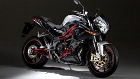 Side Pose Of Benelli Tornado Naked Tre Titanium 1130 In Black